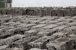 mud bricks