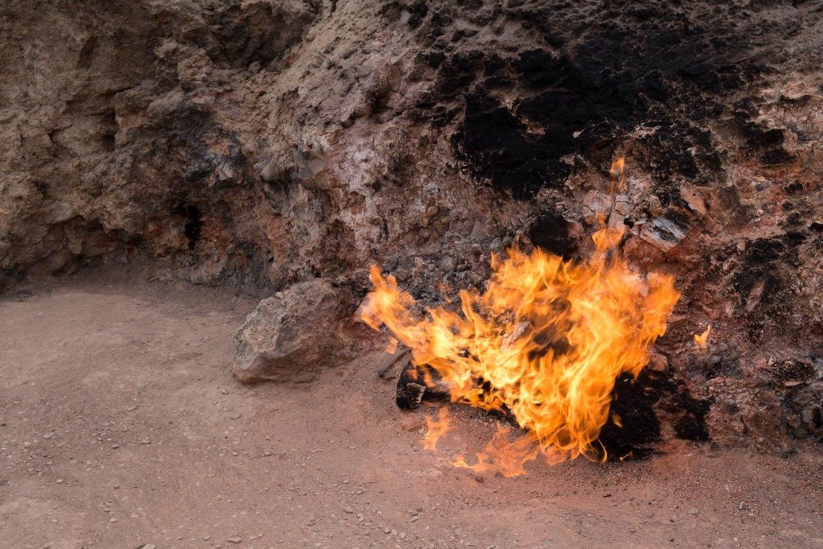 Yanar dağ - burning mountain