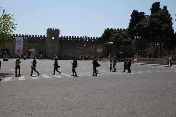 Abbey Road in Baku